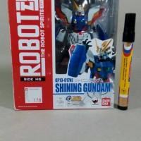 Mainan action figure Gundam Shining gundam Robot Damashii GF13-017NJ