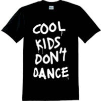 kaos / tshirt / baju 1D / one direction cool kids dont dance
