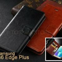 Wallet Case Leather Case Samsung S6 EDGE PLUS