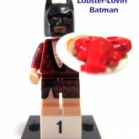 Jual LEGO Minifigures Series Batman Movie-Lobster Lovin Minifigure Seri #1 Murah