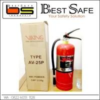 Jual APAR / FIRE EXTINGUISHER 2,5 kg ABC VIKING AV 25P Dry Chemical Powder Murah