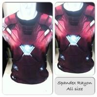 Kaos Premium Spandex Superhero Captain America SH527