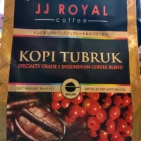JJ Royal Coffee Kopi Tubruk 30 sachets