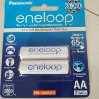 Jual baterai panasonic eneloop AA 2000mah isi 2pcs Murah