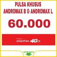PAKET PULSA KHUSUS ANDROMAX B & ANDROMAX L