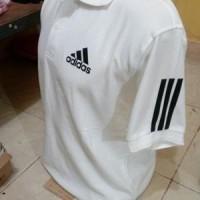 t shirt kerah polo shirt adidas kaos kerah polo shirt adidas putih