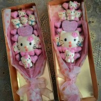 Jual Buket Bunga Valentine dalam Box Murah