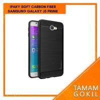 Case Ipaky Carbon Fiber Samsung Galaxy J5 Prime Soft Series