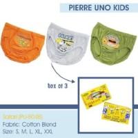harga Pierre Uno Kids - Celana Dalam Anak Laki-laki - Safari - 3 Pcs Tokopedia.com