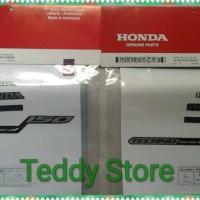 Stripping List Sticker Bodi Honda New Vario Techno 150 Exclusive 2016