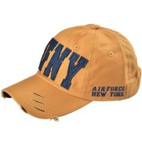 Topi Pria Ormano Baseball Snapback Air Force NY Cap - Kuning