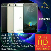 Icherry c216 Pro |HP i-Cherry C216 Pro Android Ram 1G LCD 5