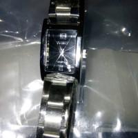 Jam tangan rantai frame kotak VINERGY QUARTZ