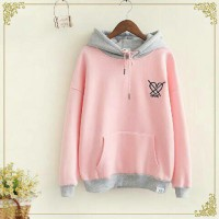 Love Cross Pink Sweater