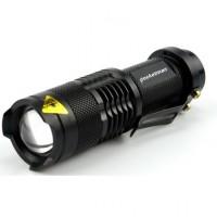 Mini Cree 14500 Ultrafire , Senter Zoom CREE Q5 Sorotan Jauh Terang