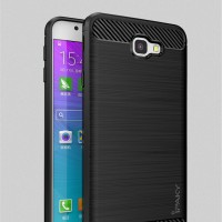 Case Samsung Galaxy J5 Prime Ipaky Carbon Fiber Soft Series