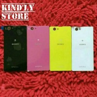 harga Backdoor / Back Cover/Tutup Baterai Sony Xperia Z1 Compact/Mini Tokopedia.com