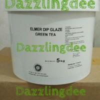 ELMER DIP GLAZE GREENTEA ELMER GREEN TEA 5 KG MANTAP!   Grosir!