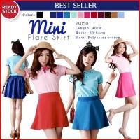 Flare Skirt / Ice Cream Flare Skirt / Rok pendek/Rok ngembang