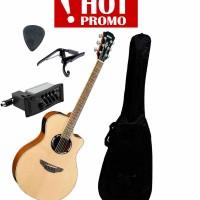 Gitar Yamaha Apx 500ii PAKET (gitar akustik elektrik , gitar apx)