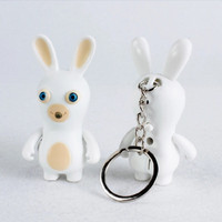 Rabbids Invasion Light Sound Keychain