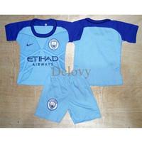 Harga best seller setelan kaos jersey baju bola anak bayi m | antitipu.com