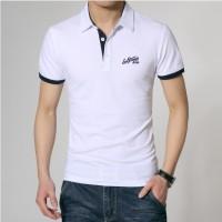 Jual Kaos Polo Shirt Levis White Stripe Blue / Kerah Wangki Murah