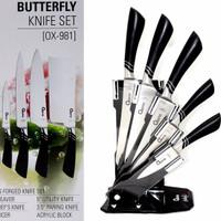 [OXONE] BUTTERFLY KNIFE SET OX-981