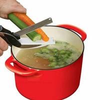 Clever cutter / gunting pemotong sayur pisau dapur tajam