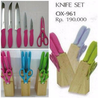 Oxone Knife Set Ox-961