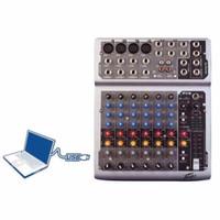Murah !!! Ampli Mixer Peavey PV8 Usb Player ( 8 Channel Mono ) + Eq