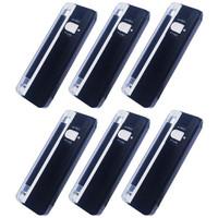 Paket 6 Buah Money Detector Portable - Alat Periksa Uang Palsu