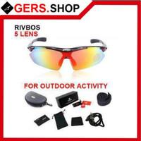 Rivbos Sport Glasses Dual Mode with 5 Lens Kacamata Olahraga Sepeda Hi