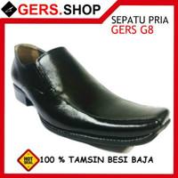 Buy 1 Get 1 [ Promo ] Sepatu Kulit G8 Handmade Pria Formal Kantor Kerj