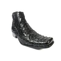 Sepatu Gers Kulit Ular Asli Snake G10 Handmade Pria Formal Kantor Ker