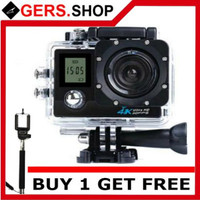 Buy 1 Get Free [ Promo ] Special Edition Sport Cam 4k Wifi 16MP Dual
