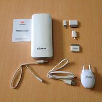 Powerbank Vivan M11 11000mah (PB Power Bank M 11 11rb mAh)