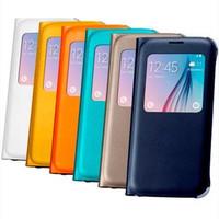 Samsung S View Cover Galaxy S6 Flipcover Original Resmi Case S 6
