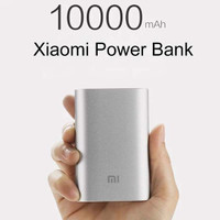 XIAOMI Mi Powerbank 10000mAh ORIGINAL ORI PB 10000 mAh (Silver)