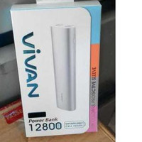 Powerbank Vivan M12S 12800mAh PB Power Bank m 12 12800 mAh Original OR