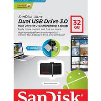 Sandisk FlashDisk OTG 32GB USB 3.0 | FD Dual Drive 32 GB SDDD2