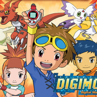 DVD Film Anime Digimon Tamers Sub Indo (Completed)