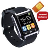 Jual Cognos Smartwatch U8 DELTA - GSM SIM CARD - Hitam Murah
