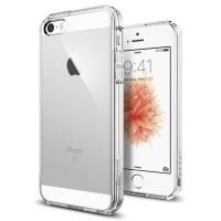 Spigen iPhone SE/5S/5 Case Ultra Hybrid - Crystal Clear