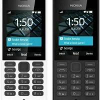 Hp Nokia 150 Terbaru resmi black & white
