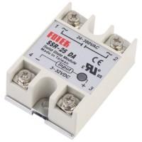 AC SSR Solid State Relay Module SSR-25DA 25A 250V 3-32V DC Input