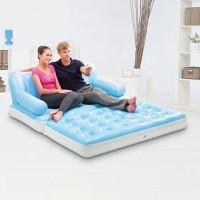 kasur angin sofa 5 in 1 promo free pompa listrik