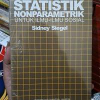 Statistik Nonparametrik by Sydney seagel