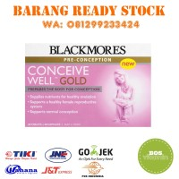 Jual READY STOCK - Blackmores Conceive Well Gold 28 Tablets + 28 Capsules Murah