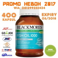Blackmores Fish Oil 1000mg Anti Inflammatory - 400 kapsul